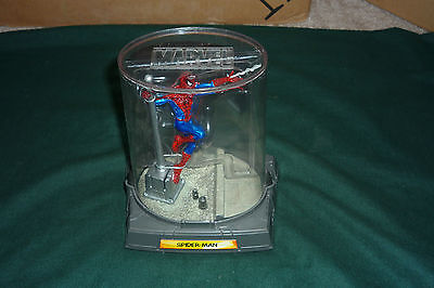 Marvel Titanium Spider-Man Metal Action Figure Mint in Dome 4""