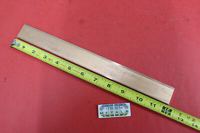14x 1-14 C110 Copper Bar 12 Long Solid Flat Bus Bar Stock H02