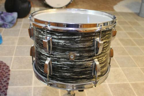 "1967 Ludwig ""Black Oyster Pearl"" 9"" x 13"" tom."
