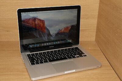 """Apple MacBook A1278 13.3"""" 2.4GHZ 2GB 9400M 250GB HDD OSX10.11.1 #11"""