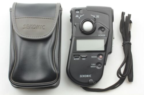 [Near Mint in Case] SEKONIC L-408 Multi Master Exposure Light Meter from Japan