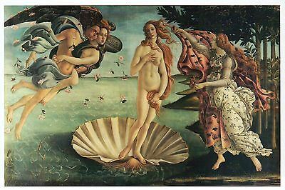 The Birth of Venus by Sandro Botticelli, Classic Art Painting -- Modern Postcard