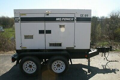 Multiquip Whisperwatt 70 Dh-07501 Single Ph3 60hz 4cyl Diesel Powered Generator