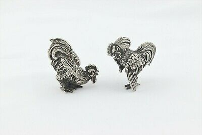 New Old Stock 1 X 34 X 12 Brass Pill Box Rooster Theme