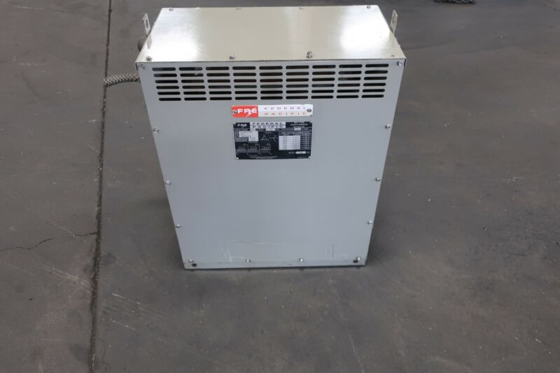 Federal Pacific Dry Transformer Class AA 480V 208Y/120 3PHASE 25KVA