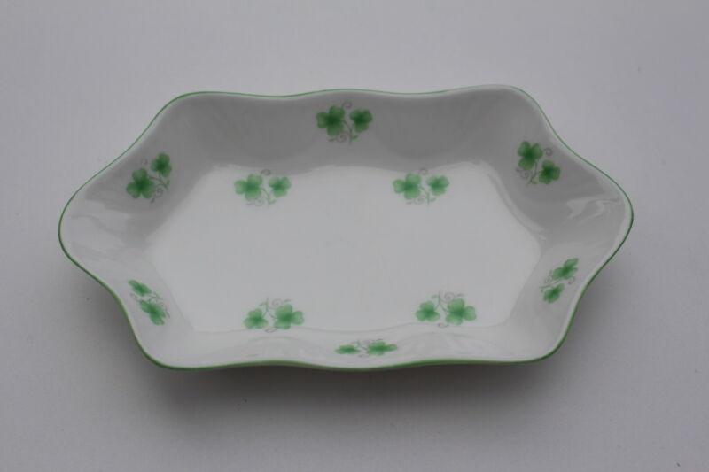 Crown Staffordshire Shamrock  tray