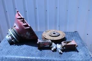 Volvo Penta to 350 Chev Bell housing kit some Mercruiser parts