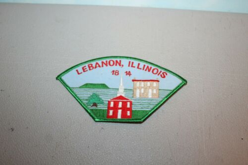 Lebanon Illinois 1914 Town Patch