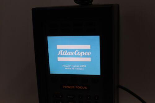 ATLAS COPCO PF4000-G-DN-HW  8433 7140 00 POWER FOCUS CONTROLLER & Cable