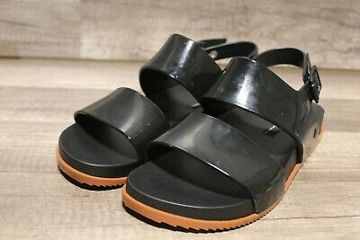 MELISSA sandals Cosmic Sandal III Ad 32495 Black / Brown Sz 8M{4m-1861}