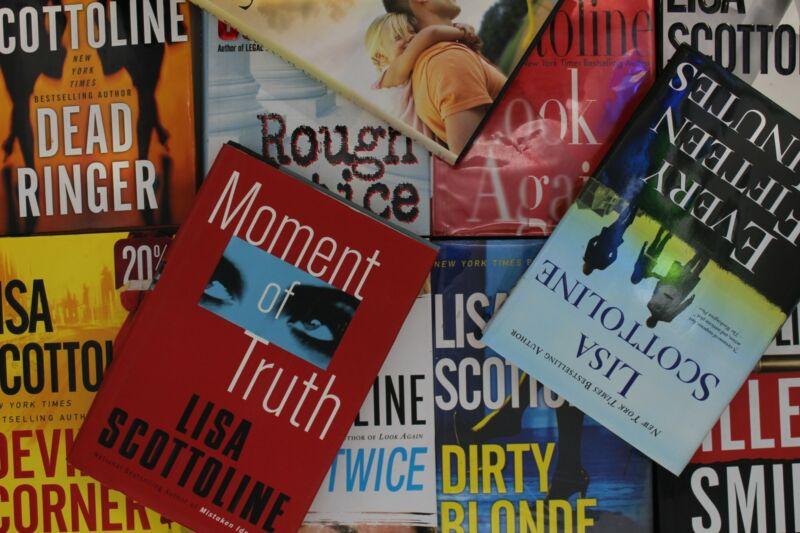Lot of 5 Lisa Scottoline Legal Thriller Hardcover Books MIX