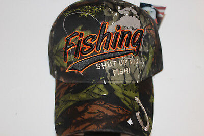 Anglerkappe Cap Kappe Mütze Camouflage Fishing Angler Mütze Angeln # 85