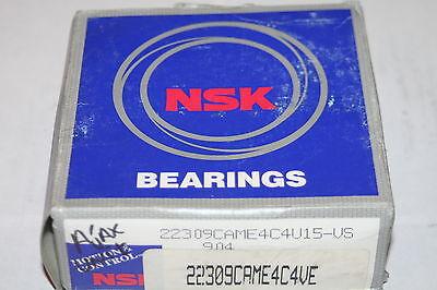 Nsk 22309.cam.e4.c4.u15 Spherical Roller Bearing Came4c4.ve  New