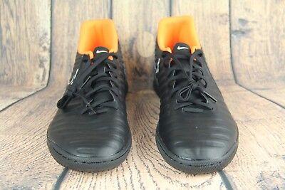 finest selection 76c54 1246f Nike TiempoX Legend VII Club IC Indoor Soccer Black AH7245-080 Mens SZ 12  NEW