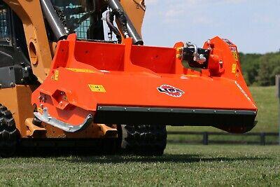 Lipa Tlb-f 140 Flail Mower Shredder Mulcher For Smaller Skid Steer Loader