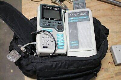 Microtest Penta 100mhz Scanner 293-4007-01 And 2-way Injector 2938-4008-01 Nice