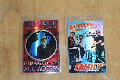 Kid Rock - 2 x Laminated Backstage Pass - Lot # 2 -  FREE POSTAGE