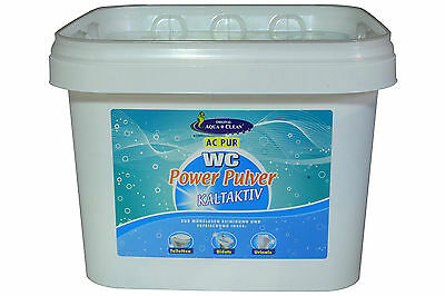 Aqua Clean Pur WC Power Pulver Kraftschaum 3 kg KALTAKTIV