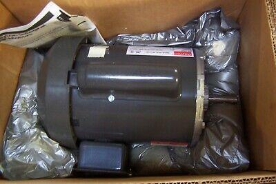 New Dayton 1 Hp Electric Motor 56 Frame 3450 Rpm 115208-230 Vac 1 5k960bb