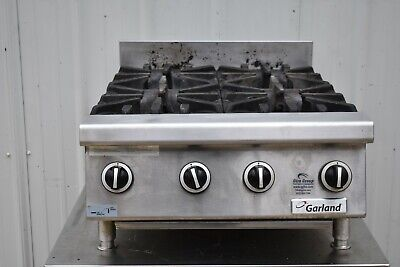 Garland Gtog24-4 Natural Gas 4 Burner 24 Range Top