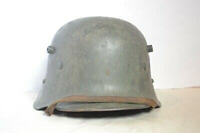 World War I German Helmet (WWII GERMAN TRANSITIONAL HELMET M16 AUSTRIAN WWI)