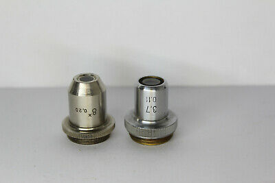 Lomo Microscope Objective 3.7 0.11 Macro Photo Lens W 8 0.20 Photography