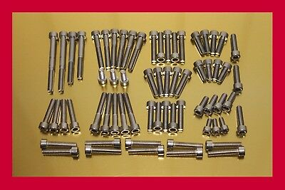 Yamaha Drag Star XVS 650 XVS650 Stainless Steel Bolt-Kit Screws Engine Cover  for sale  Shipping to Canada