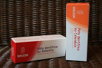 Zahnpasta natürlich, homöopathische Ratanhia oder Calendula, 75ml - WELEDA ()