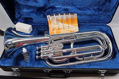 Yamaha YBH301 Silver Baritone Horn YBH 301 wt Hard Case Mouthpiece Owner Manual for sale  Phoenix
