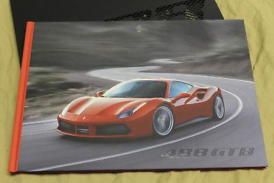 GENUINE Ferrari 488GTB Hardcover Brochure 95993439