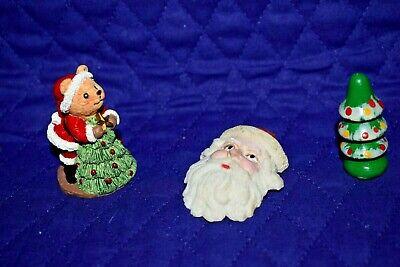 Wood Magnet Christmas Santa