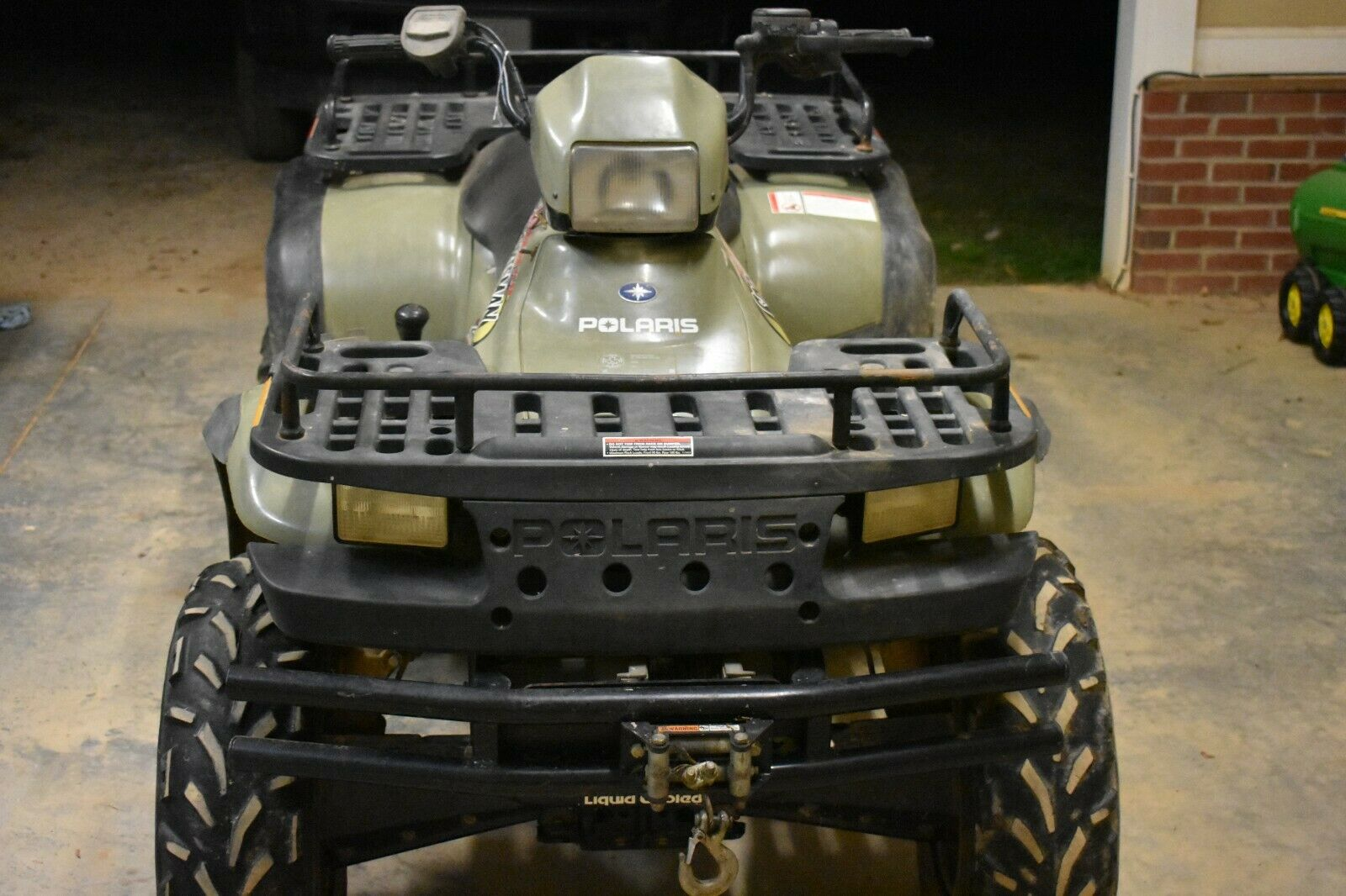 2004 Polaris Sportsman HO 500 4X4 WARN 2,000 LB Winch