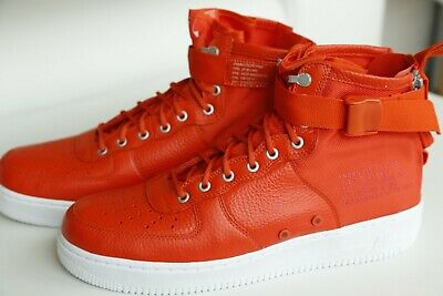 NIKE Schuhe SF AF1 mid Sneaker 917753800 Team ORANGE US 12 / EU 46 AirForce1 Men - Team Orange Schuhe