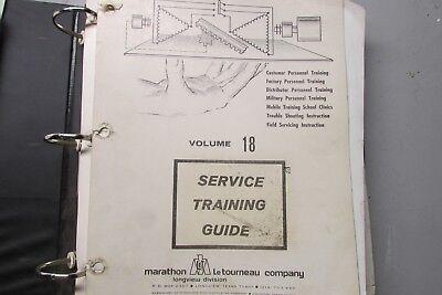 Letourneau Volume 18 Service Training Guide