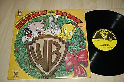 CHRISTMAS WITH BUGS BUNNY Starring Mel Blanc and Friends LP Peter Pan WB Records