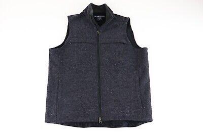 Ex Officio Wool Vest - EXOFFICIO Men's Wool Blend Full Zip Charcoal GrayVest with pockets Size- Medium