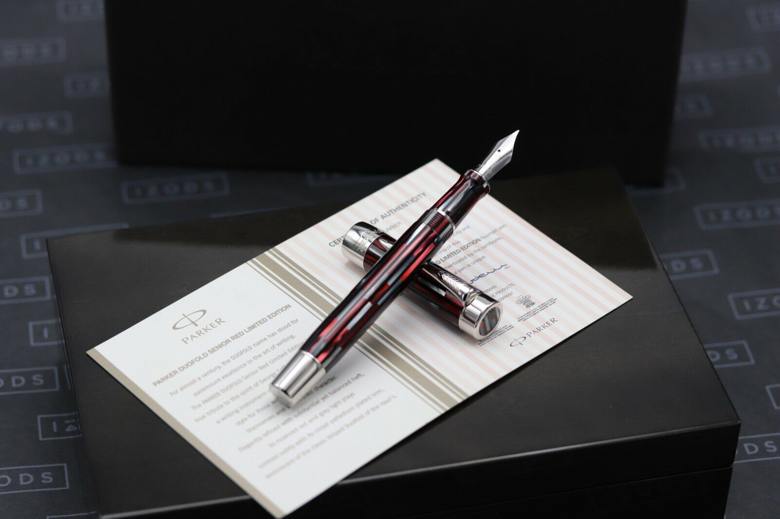 Parker Duofold Senior Red Limited Edition Fountain Pen - INKED ONCE