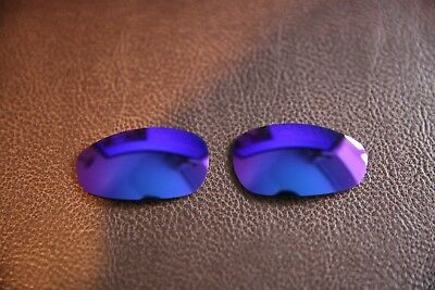 Polarlens Polarisiert Lila Ersatz Linse für Oakley Juliet Sonnenbrille