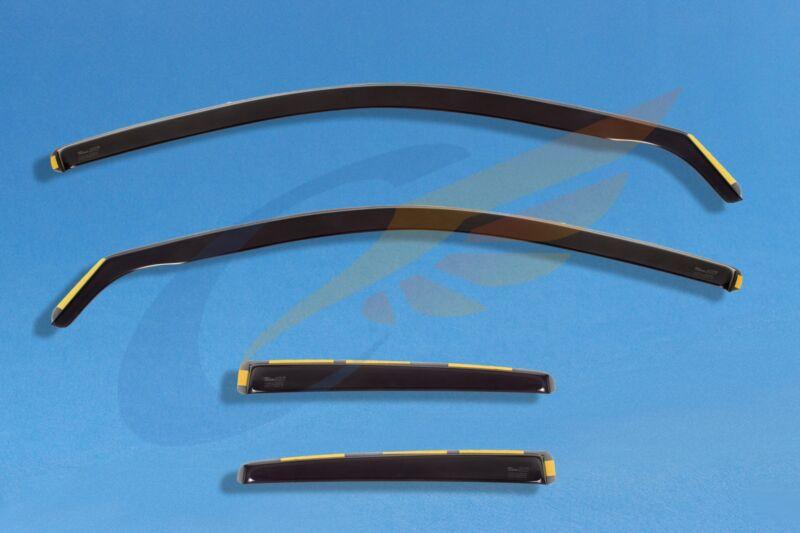 LEXUS CT 200H 5-doors 2011-onwards 4-pc wind deflectors HEKO Tinted