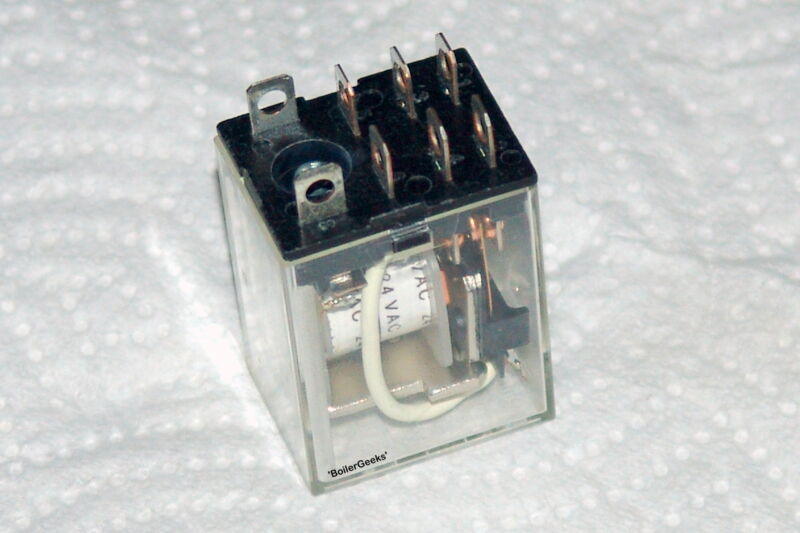 LY2 8 Pin Plug in Relay for zone control relay boxes- 24 VAC COIL -ARGO - TACO -