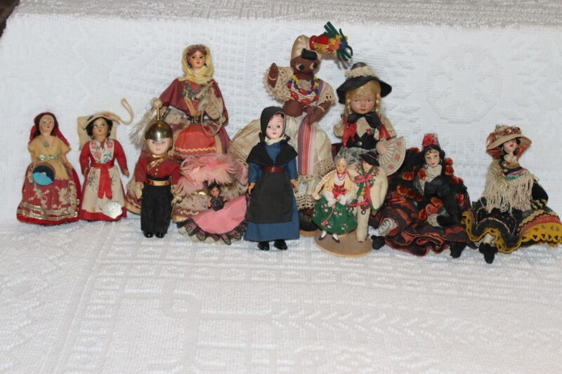 Vintage European doll collection 1960s