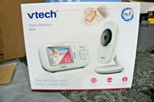 "Vtech VM2251 2.4"" Full-Color Digital Baby Monitor & Automatic Night Vision -New"