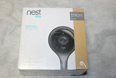 NEST PRO INDOOR SECURITY CAMERA NC1103US BLACK unopen