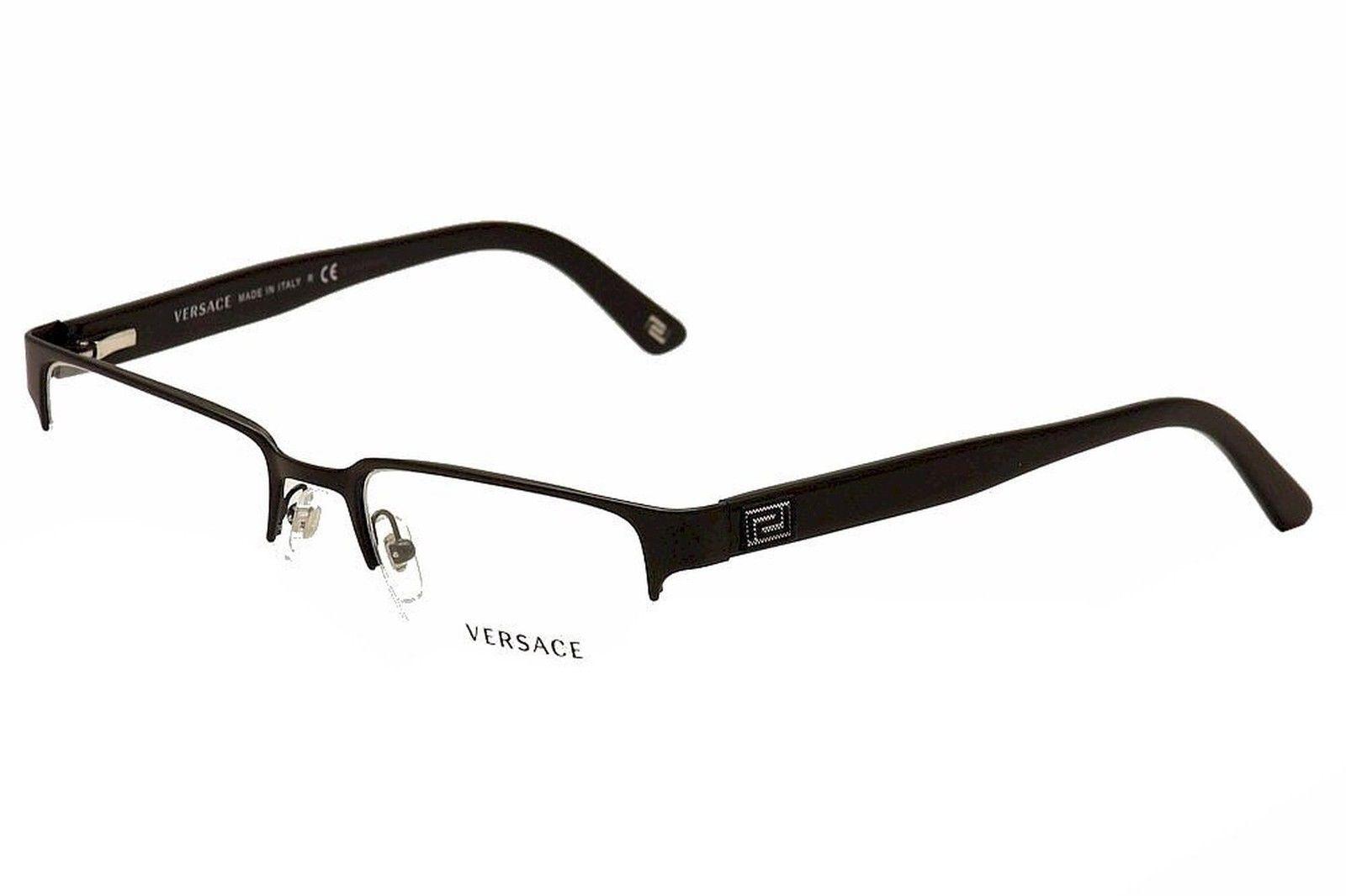 ebf53b36f88 Versace 0ve1184 Eyeglasses Matte Black 1261 Size 53mm for sale ...