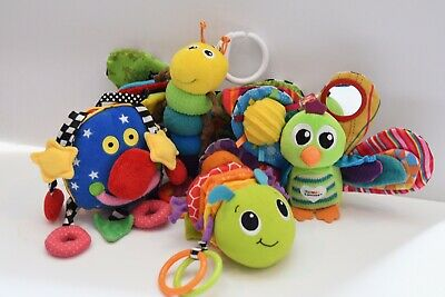 Lamaze Infantino Whoozit Baby Plush Soft Toys Teether Stroller Crib Activity Toy