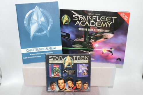 Star Trek: Federation Compilation Windows PC CD-ROM Game, Guide and Manual
