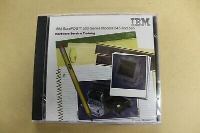 Ibm Sure Pos 500 Series Models 545565 Hardware Service Training Cd - New
