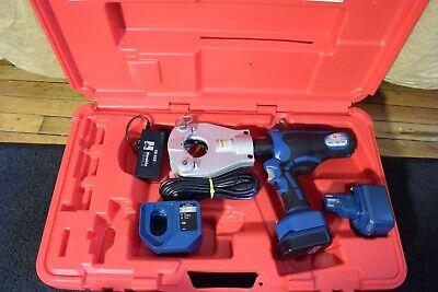 Huksie Brand Dieless Crimper Model Rec-b6750 14v Li-ion Battery