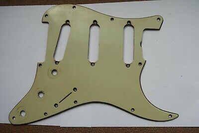 ST-59/' rare 8 Hole Vintage Wide Bevel Green Guard fits Fender US//Vint.Mex.