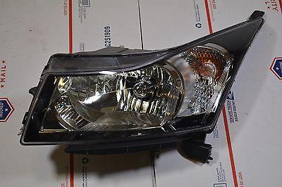 09-16 CHEVROLET CRUZE HALOGEN HEADLIGHT LEFT DRIVER SIDE OEM